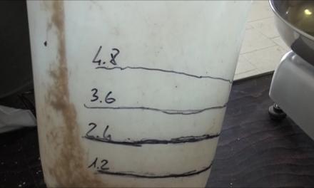 Calibrated bucket
