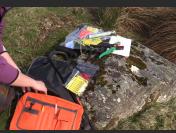 Outdoor lamb recording bag