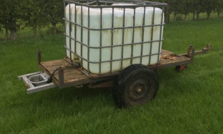 Portable water supply